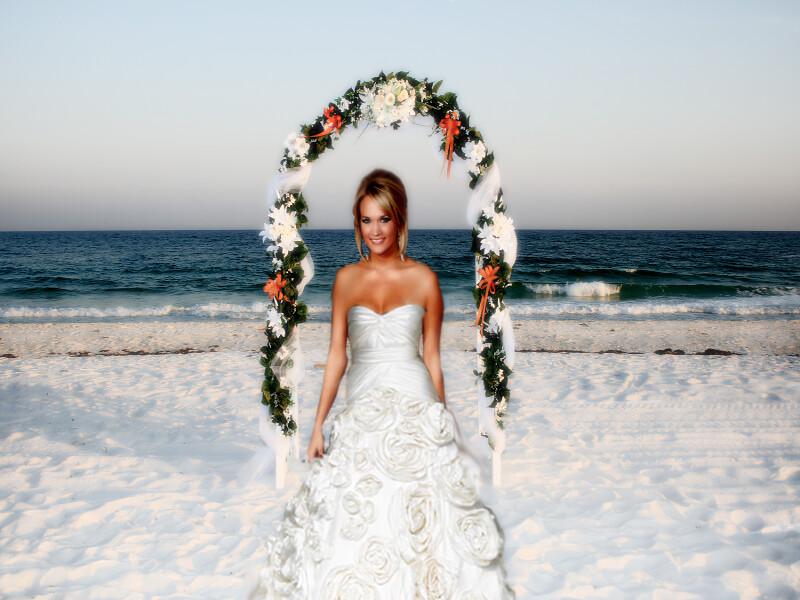 Custom Carrie Underwood Wedding Gown Beach | Carrie Underwoo… | Flickr