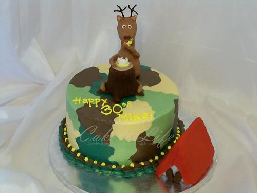Deer Hunter S Birthday Cake 11 2010 This Cake Was