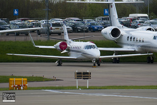 D-CLIC - 560-5788 - Private - Cessna 560XL Citation XLS - Luton - 100426 - Steven Gray - IMG_0436 | by StevenRGray.co.uk / Stevipedia.co.uk