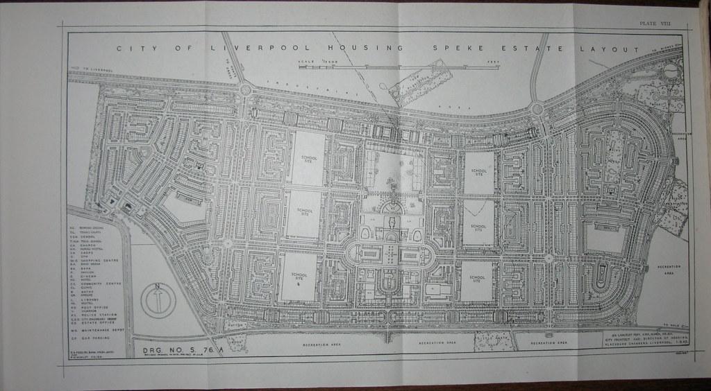 City of Liverpool - Housing Department - Speke Estate layo… | Flickr