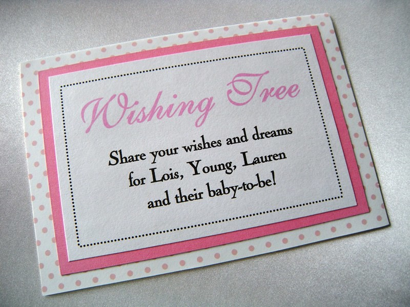 Wishing Tree Baby Shower Sign Custom Baby Shower Sign At W Flickr