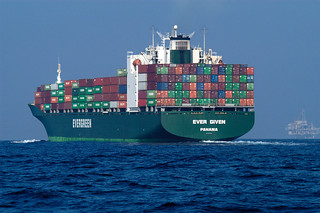 Container Ship | by NOAA's National Ocean Service