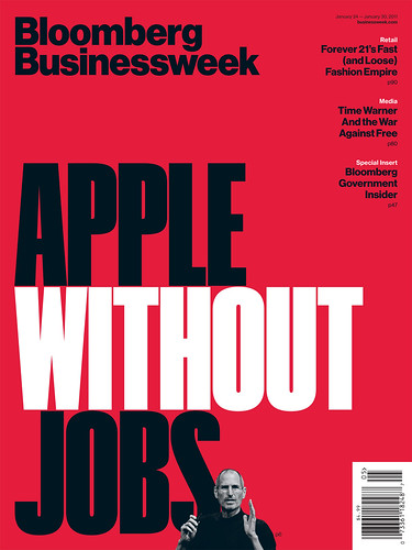 Steve Jobs Cover | by bizweekdesign