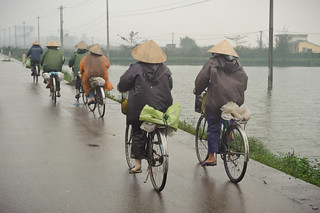 Cycling in the Rain | by goingslowly
