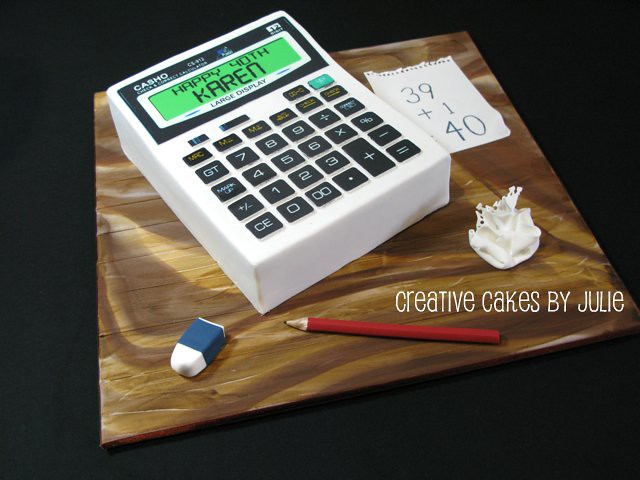 Calculator Cake By Creative Cakes Julie