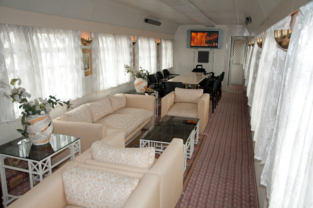 ... Private Rail Car   Princeu0027s Carriage, Morocco | By Train Chartering U0026  Private Rail Cars