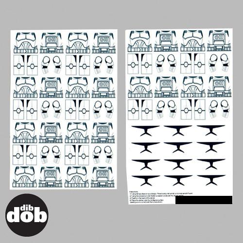 By dibdobdesign custom star wars lego design your own clone decal sticker set by dibdobdesign