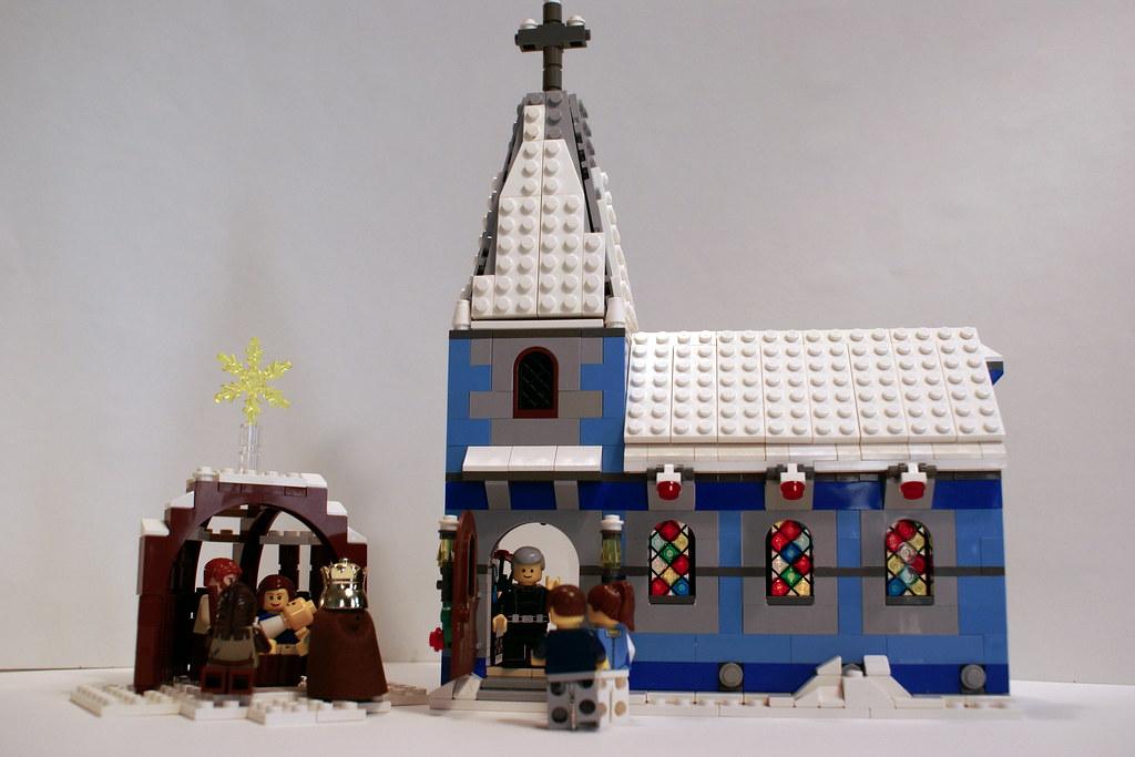 Lego Winter Village Chapel Flickr