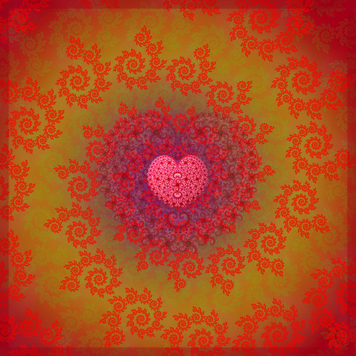 Valentines love fractal | by Photography By Pixie