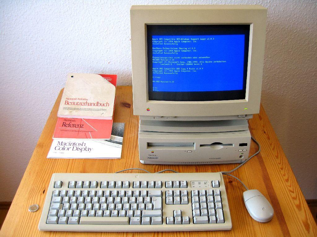 Apple Macintosh Performa 630 Dos Compatible Flickr