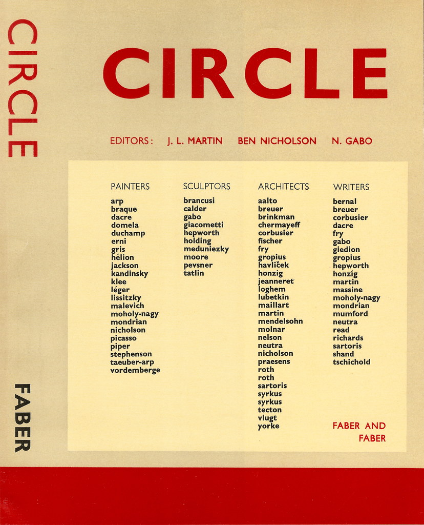 book dust jacket for circle edited by martin nicholson flickr