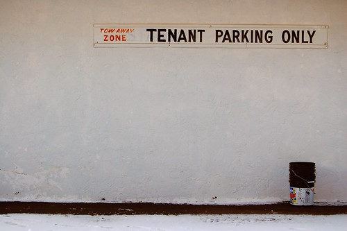 Tenant Parking Only | by Jeremy Stockwell