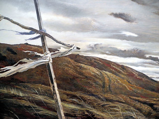 Andrew Wyeth - Dodge Ridge, 1947 at Smithsonian American Art Museum Washington DC | by mbell1975