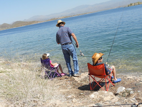 Fishing lake pleasant april 2011 mom and dad flickr for Lake pleasant fishing report