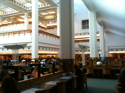 British Library Reading Room Humanities
