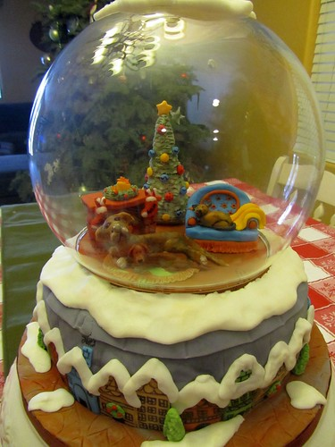 Christmas Snow Globe Cake I M So Proud Of This Cake If