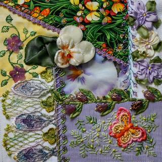 Pansy Block for Alice | by ivoryblushroses