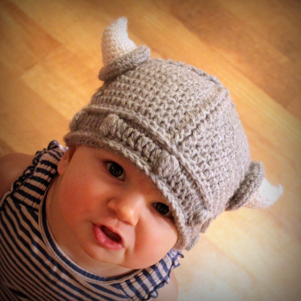 Viking Hat Crochet Pattern | blogged: easymakesmehappy.blogs… | Flickr