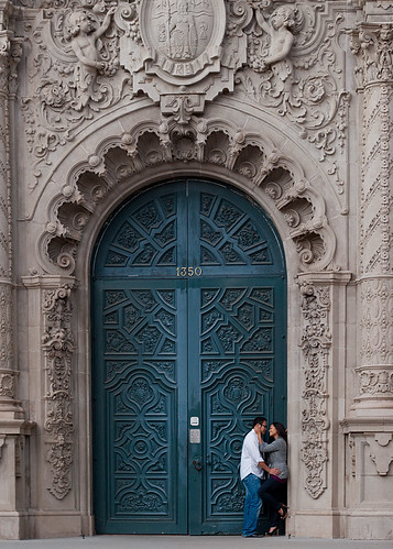 Deborah & Mark at the Blue Door | by disneymike