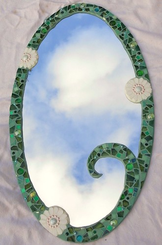 Mosaic mirror | by Waschbear - Frances Green