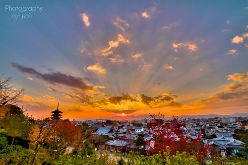 HDR Sunset over Kyoto | by ❤ Photography By Vicki ❤