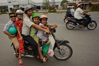 Vietnamese Family on Motorbike | by goingslowly