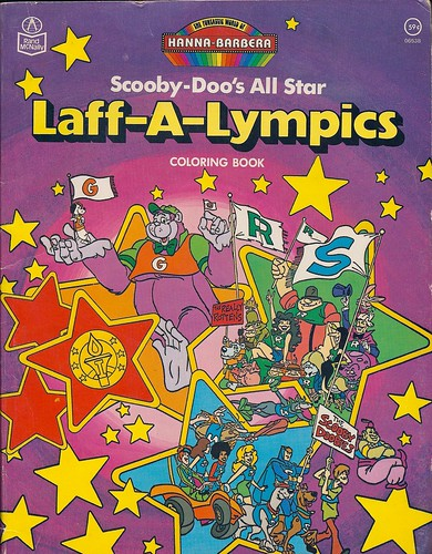 Hanna Barbera Scooby Doos Laff A Lympics Coloring Book 1