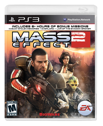 Mass Effect 2 PS3 Box | by PlayStation.Blog