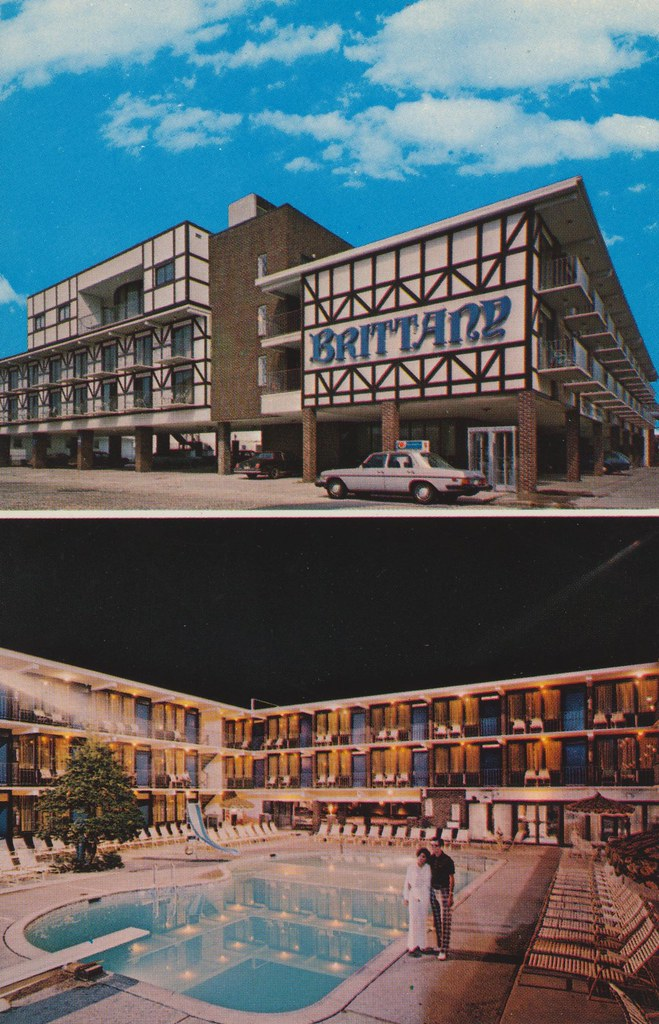 Brittany Motel - Wildwood, New Jersey