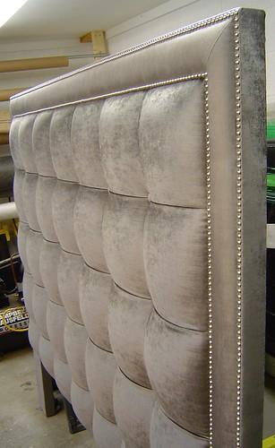 Diy Fabric Headboard King Head Boards