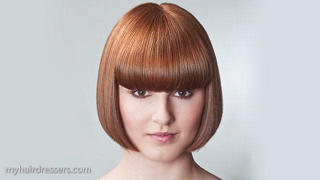 ... Salon Basic Haircut   One Length Bob | By MyHairDressers.com