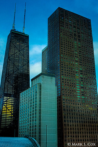 Chicago Skyline at Evening (HDR) | by mctuba