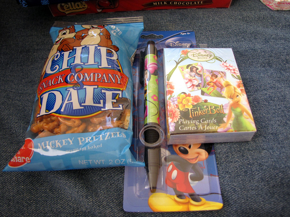 Mickey Pretzels, Fairies Cards, Minnie Pen | My christmas pr… | Flickr