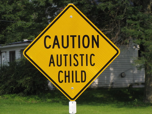 Caution Autistic Child | by anthonylibrarian