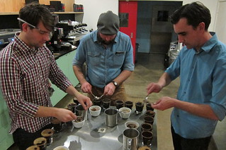 Intelligentsia: The Cupping Begins! | by Guzzle & Nosh