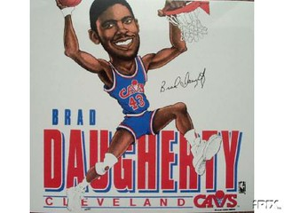 Brad Daugherty Cartoon | by Cavs History