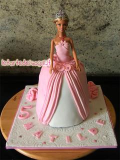 Cake Design Torta Barbie : Barbie cake for a 5th birthday ?(ENG below ) Torta al ...
