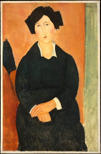 Modigliani, Amedeo (1884-1920) - 1917 The Italian Woman (Metropolitan Museum of Art, New York City) | by RasMarley