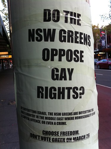 Oppose gay rights