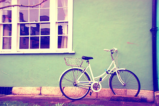 Bike resting photoshop II | by Little Miss Joey