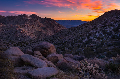 Sunrise over the Santa Rosa Mountains and Flatcat Canyon from Hellhole Flat | by Scott_E_Gibson
