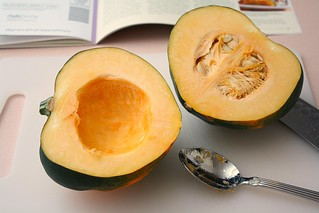 Maple-Glazed Acorn Squash | by Tracey's Culinary Adventures