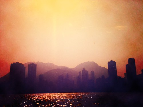 View Of Hong Kong Island | by Black Bauhinia