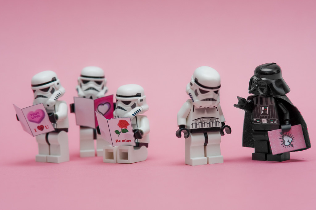 By Sad Old Biker I Find Your Lack Of Valentines Disturbing! | By Sad Old  Biker