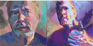 Double Color Portrait Study of Michael Kent -  xxvi.ii.xi - for JKPP | by Clyde Semler