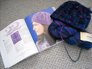 Unfinished Bobbles & Cables Cap | by bcritters