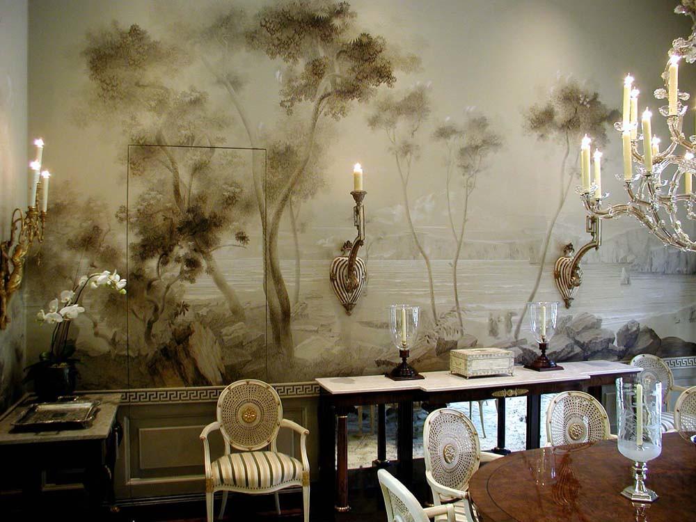 Interior Designer Suzanne Tucker. Andrew Skurman Architect. Artist Sergey  Konstantinov