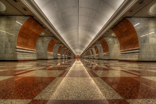 Moscow Metro - Take 1: Park Pobedy | by AJ Brustein