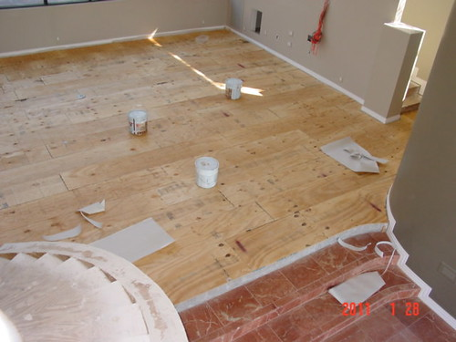 Floating Plywood Sub Floor Over Concrete Tucson Az Flickr