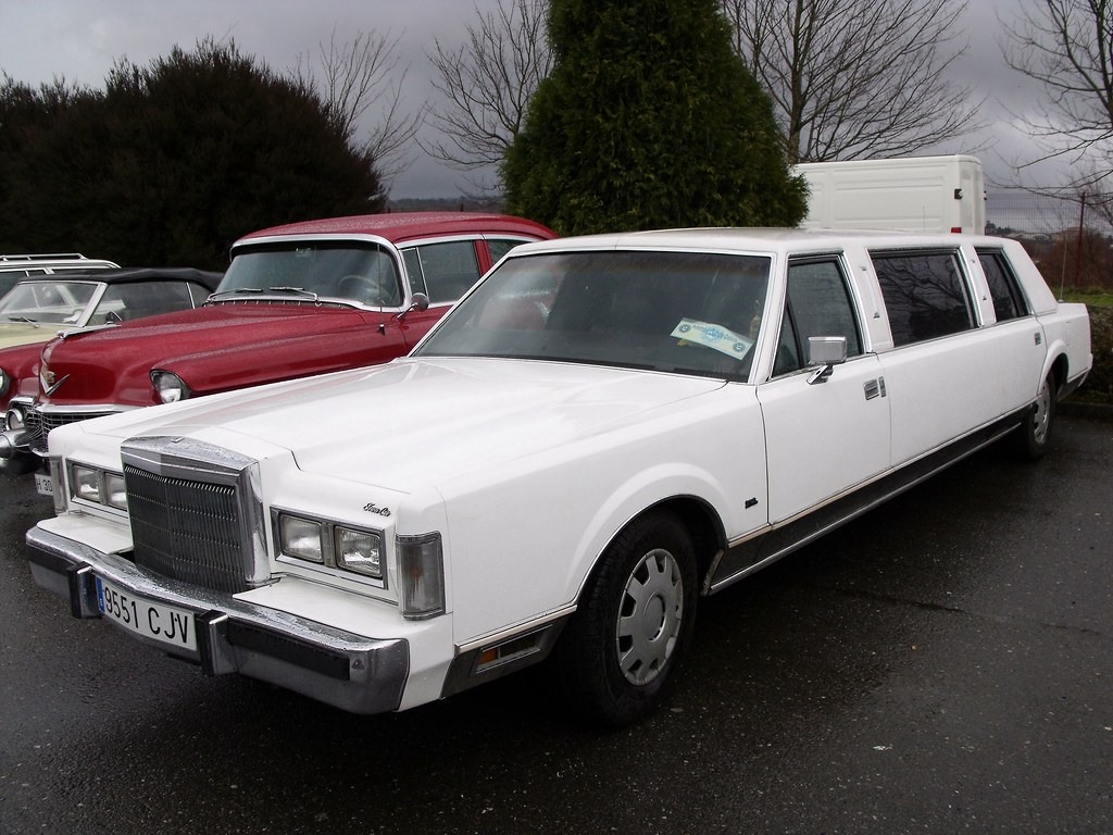 1988 Lincoln Town Car Limousine Fiattipoelite Flickr